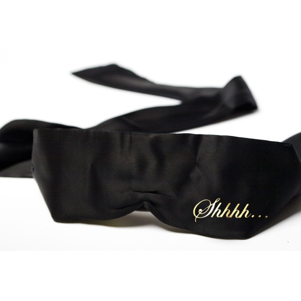 SHHH SATIN BLINDFOLD - Made For Curves