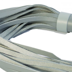 Leather Grey Flogger