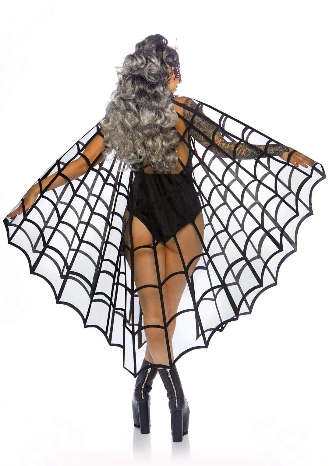 Velvet Web Cape - Made For Curves