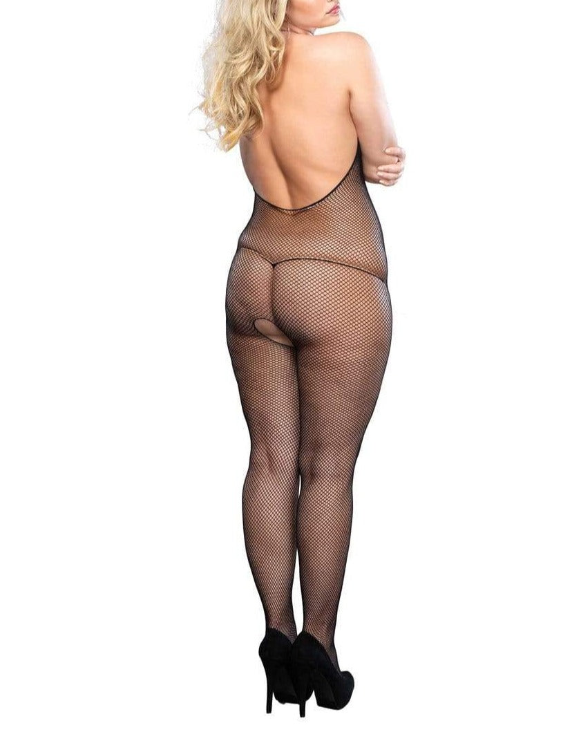 Mara Fishnet Bodystocking - Made For Curves