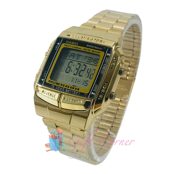 88ba069b3f3c Casio Vintage DB-360G-9A Gold Plated Watch For Men and Women – Mel s ...