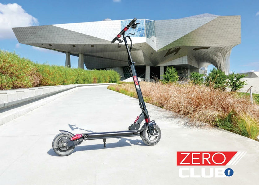 Launch of the ZERO e-scooter series