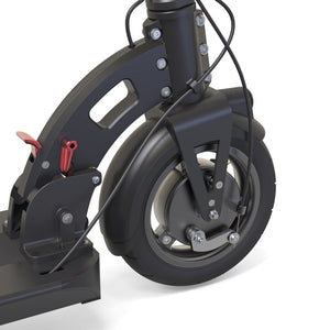 inokim light 2 electric scooter front wheel drum brake