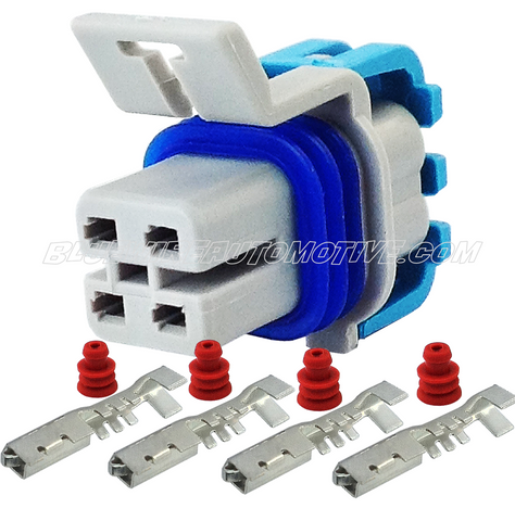 02 HEADER OXYGEN SENSOR CONNECTOR PLUG-4pin