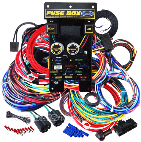 bluewire automotive universal 12 circuit plus wire harness rh bluewireautomotive com