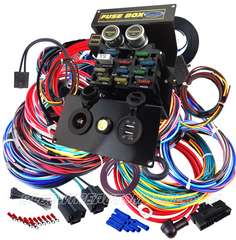 bluewire automotive wiring harnesses  amazon com circuit wiring harness kit