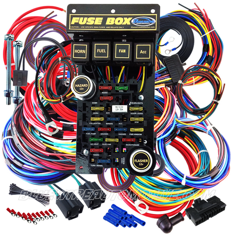Stupendous Universal 21 Circuit Pro Plus Automotive Wiring Wiring 101 Photwellnesstrialsorg