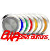 SILVER SERIES BILLET BUTTON-LATCHING/MOMENTARY-22mm-BLANK