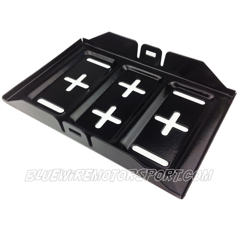 BATTERY TRAY & FLOOR MOUNT - MED