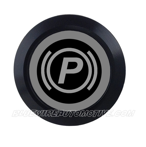 BLACK SERIES BILLET BUTTON-22mm-PARK/E-BRAKE