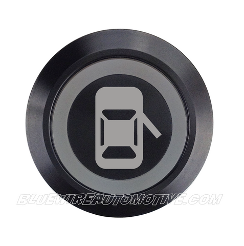 BLACK SERIES BILLET BUTTON-MOMENTARY-22mm-DOOR POPPER RIGHT