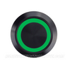 BLACK SERIES BILLET BUTTON-LATCHING/MOMENTARY-19mm-BLANK