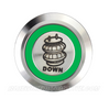SILVER SERIES BILLET BUTTON-19mm-AIR BAG DOWN