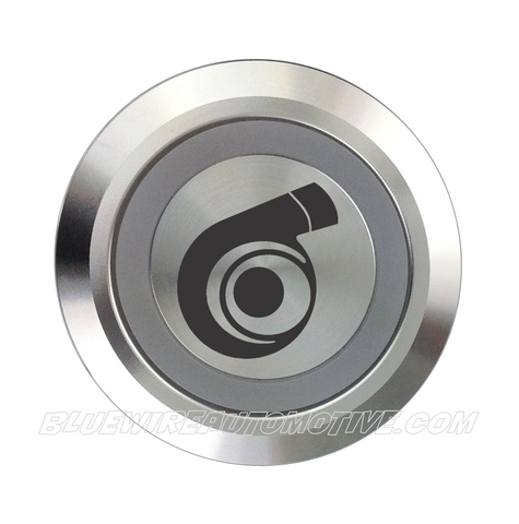 SILVER SERIES BILLET BUTTON-22mm-TURBO