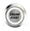 SILVER SERIES BILLET BUTTON-22mm-ENGINE START