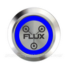 SILVER SERIES DUAL COLOUR BILLET BUTTON-22mm-FLUX