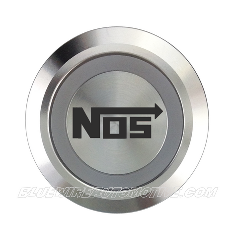 SILVER SERIES DUAL COLOUR BILLET BUTTON-22mm-NITROUS OXIDE
