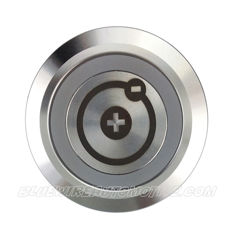 SILVER SERIES BILLET BUTTON-22mm-BATTERY ISOLATOR