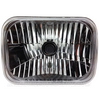 "CRYSTAL LENS HIGH/LOW HALOGEN HEADLIGHTS - 200x142mm - H4  ""ADR APPROVED"""