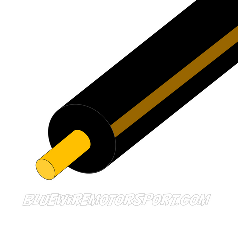 BLACK/BROWN SINGLE CORE WIRE - 30mtrs - 100mtrs - 3mm