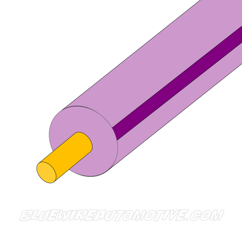 PINK/VIOLET SINGLE CORE WIRE - 100mtrs - 3mm