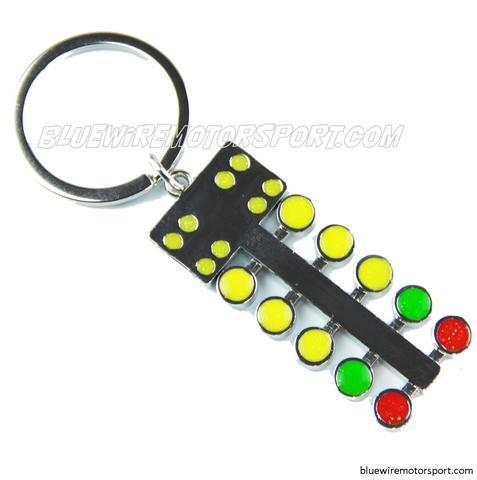 DRAG RACING LIGHTS KEYCHAIN