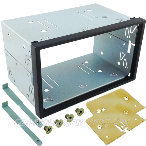 UNIVERSAL DOUBLE DIN AUDIO CD DVD CAGE KIT