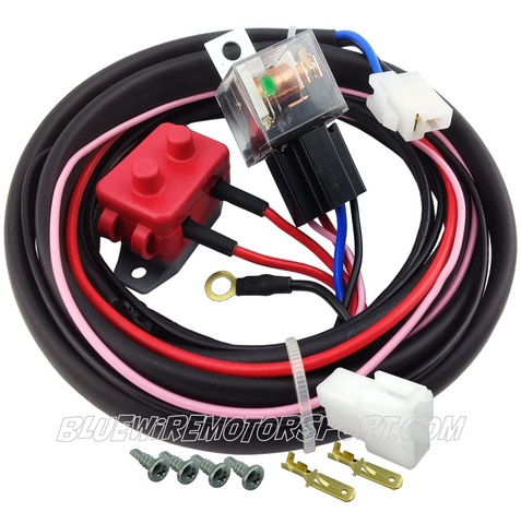 ELECTRIC WATER PUMP HIGH AMP HEAVY DUTY RELAY KIT & HARENESS