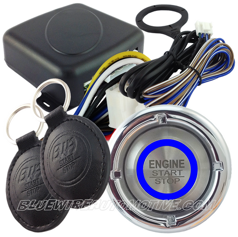 FORD MUSTANG 1968-69 RFI TOUCH TAG ENGINE START/STOP SYSTEM-NON GENUINE FORD COMPATIBLE PARTS - BWAESFDMUG01