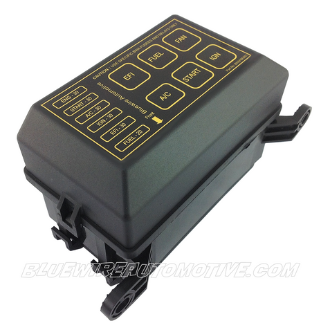 6 Standard 6 Way Blade Fuse Box & 5 Road Relay Box With ATO ... on