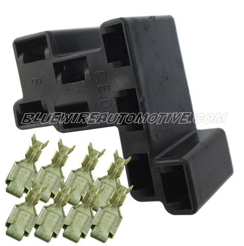 DELPHI PACKARD HEADLIGHT SWITCH CONNECTOR- 8pin-BWAP0113