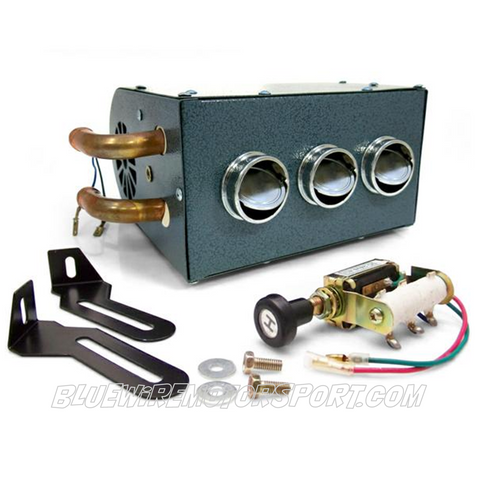 UNIVERSAL DELUXE AUTOMOTIVE HEATER KIT - 3 VENT