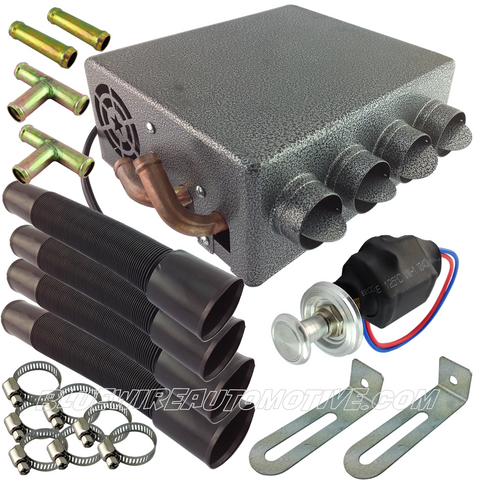 UNIVERSAL HIDDEN HEATER KIT - 4 VENT