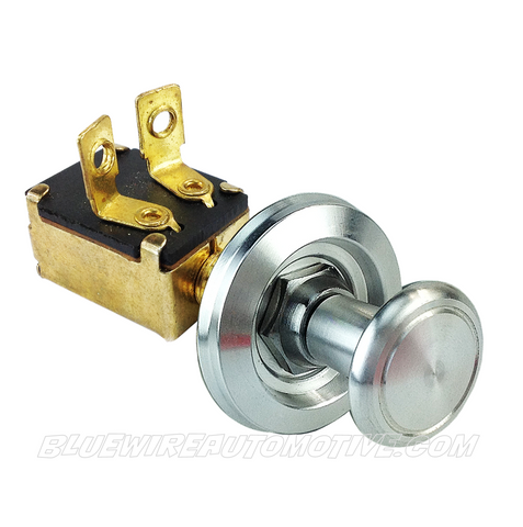 BILLET SILVER SERIES ON/OFF SWITCH-PULL/PUSH