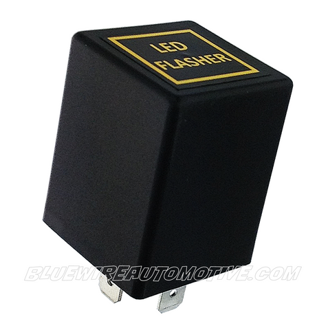 LED FLASHER RELAY - NON GENUINE PART COMPATIBLE WITH TOYOTA CELICA CAMRY COROLLA CORONA RAV4 HILUX HIACE PRADO LANDCRUISER