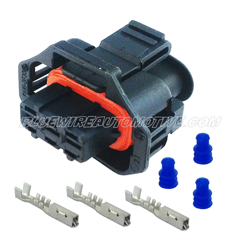 MAP SENSOR CONNECTOR PLUG-3PIN-2.5BAR - BWAP0035
