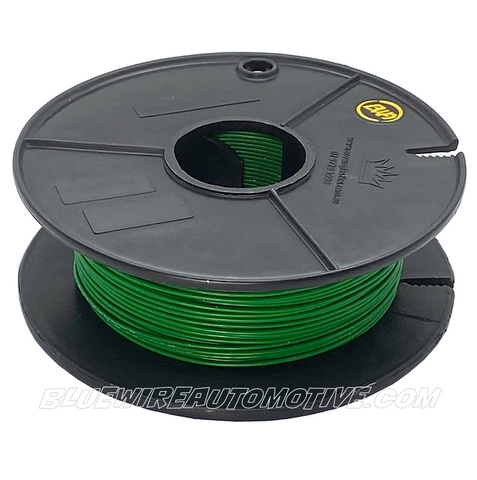 SINGLE CORE MILSPEC WIRE - GREEN - 22AWG - 30mtrs - BWAMSTGRN22