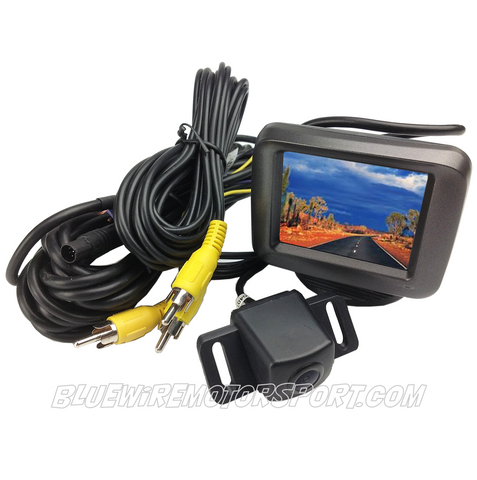 MINI-SCREEN AJUSTABLE MONITOR + REVERSING CAMERA