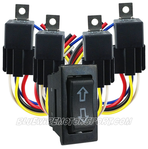 POWER UTE HARD LID MANUAL SWITCH OPERATING SYSTEM - 2 MOTOR