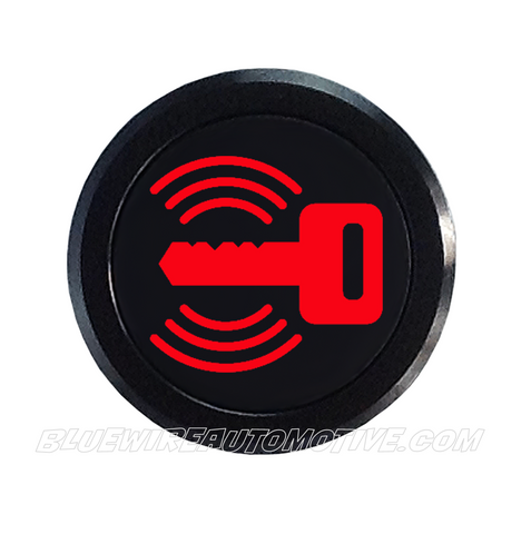 BLACK SERIES PILOT LIGHT SIGNAL-SECURITY KEY-RED-14mm (FLASHING LED)