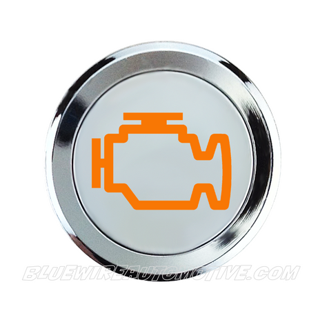 ENGINE WARNING SIGNAL SILVER SERIES PILOT LIGHT-AMBER-14mm