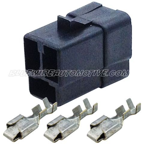 DELPHI PACKARD 56 SERIES FEMALE CONNECTOR PLUG-3PN-BWAP0126F