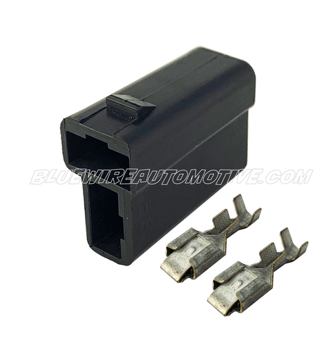 DELPHI PACKARD FEMALE PLUG CONNECTOR SOCKET-2PN - BWAP0102-F