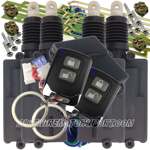 REMOTE KEYLESS CENTRAL LOCKING KIT - 4D - BWACL04R