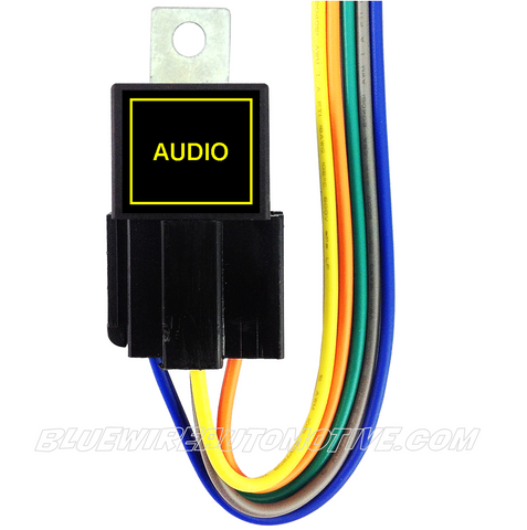 BILLET BUTTON RELAY-AUDIO