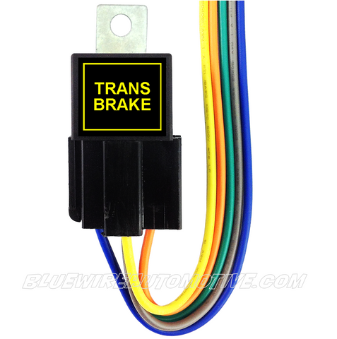 BILLET BUTTON RELAY-TRANS BRAKE
