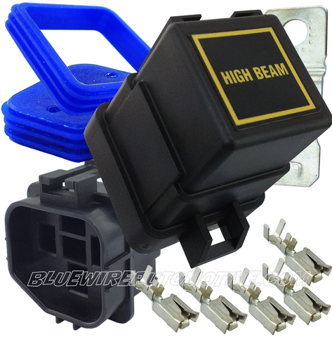 12v WATERPROOF AUTOMOTIVE & MARINE HEAVY DUTY RELAY 40AMP-HIGH BEAM