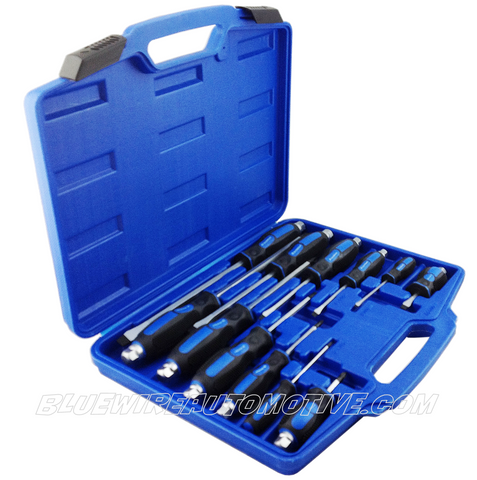 SCREWDRIVER KIT - 12 PIECE