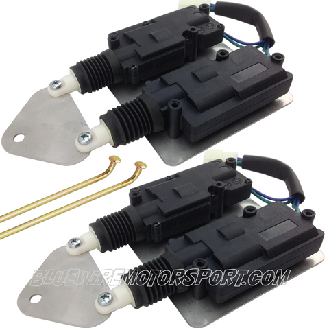 SLIM FITTED SHAVED DOOR ACTUATOR POPPER - PAIR - NO REMOTE