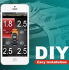 SMARTPHONE TPMS BLUETOOTH TYRE PRESSURE MONITOR SYSTEM - IPHONE & ANDROID